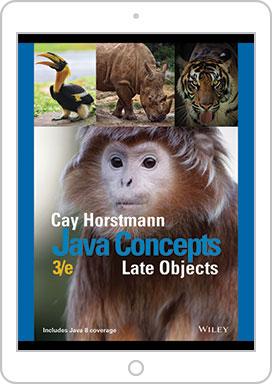 Horstmann Interactive Editions