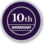 [10th anniversary logo]