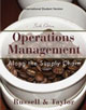 Operations Management: Along the Supply Chain, 6E International Student Version